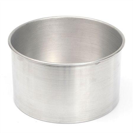 Assadeira Redonda de Alumínio N.1 - Fundo Fixo