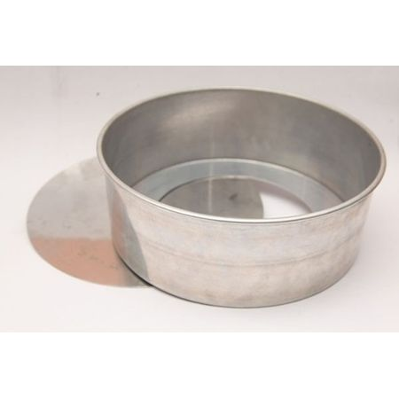 Assadeira Redonda de Alumínio N.4 - Fundo Falso