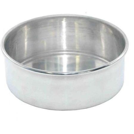Assadeira Redonda de Alumínio N.4 - Fundo Fixo