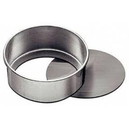 Assadeira Redonda de Alumínio N.2 - Fundo Falso