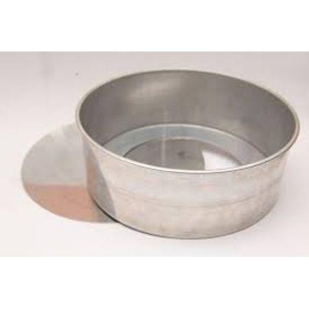 Assadeira Redonda de Alumínio N.3 - Fundo Falso