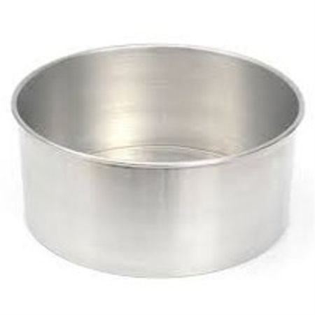 Assadeira Redonda de Alumínio N.2 - Fundo Fixo