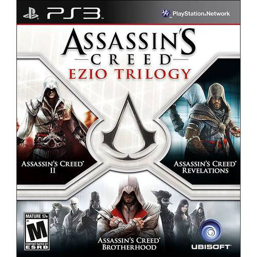 Assassin's Creed Ezio Trilogy - Ps3