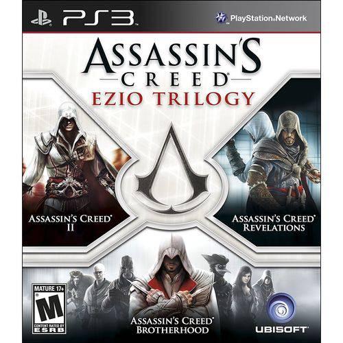 Assassins Creed Ezio Trilogy - Ps3