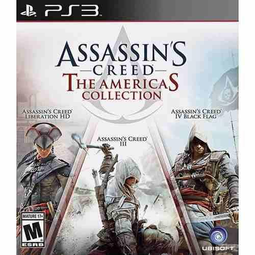 Assassins Creed The Americas Collection - Ps3