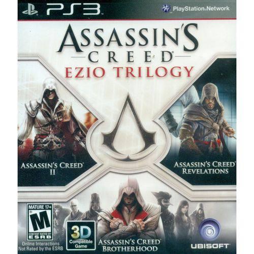 Assassins Creed Trilogy Ezio - PS3