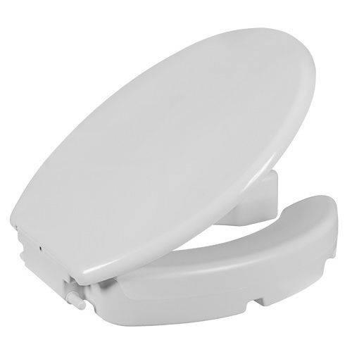 Assento Elevado Acessibilidade Branco Astra 7cm com Tampa