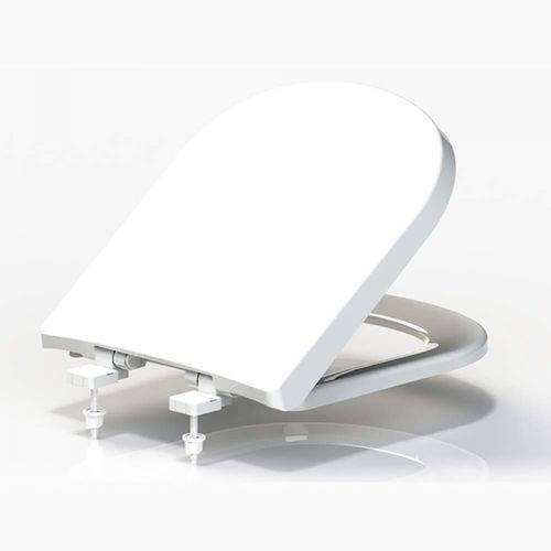 Assento em Resina Termofixa Soft Close para Louças Tupan Bege
