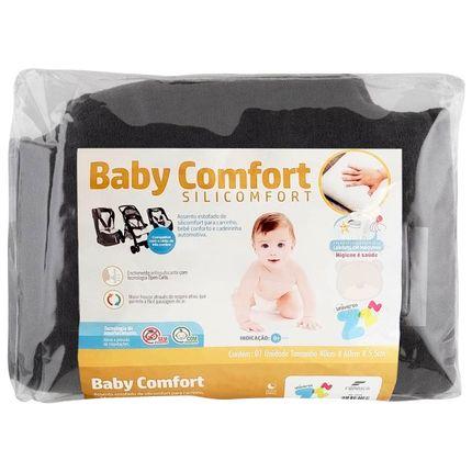 Assento Estofado Baby Comfort Silicomfort Grafite - Fibrasca
