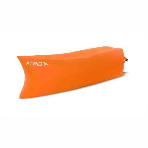 Assento Inflável Chill Bag Laranja Atrio - Es140