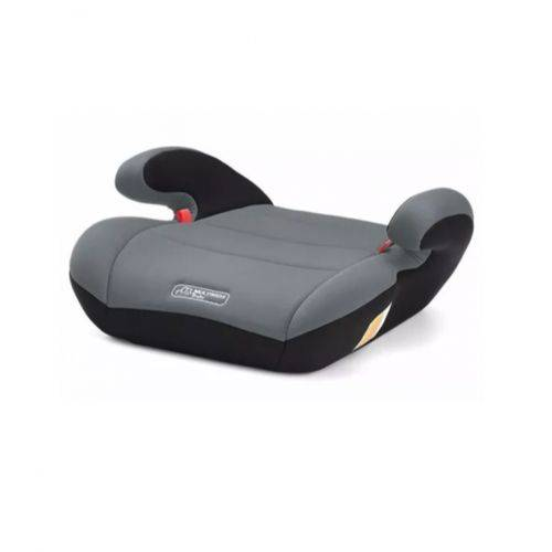 Assento para Automovel Safe Booster Baby 22-36kg Cinza Multikids