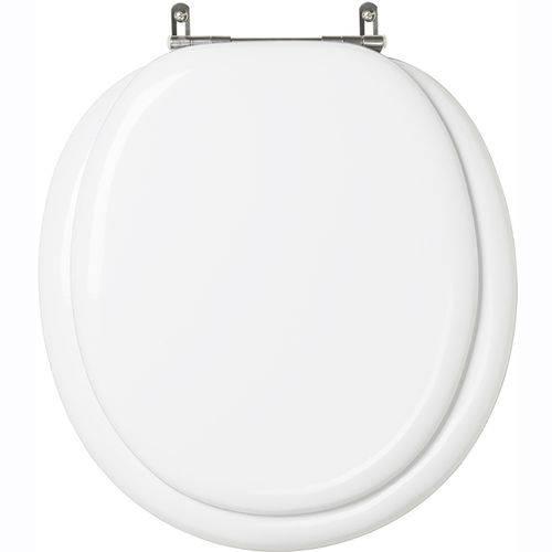 Assento Sanitario Almofadado Classica Branco para Vaso Celite