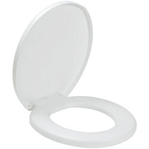 Assento Sanitario Almofadado Oval Comfort Branco 11972 Amanco