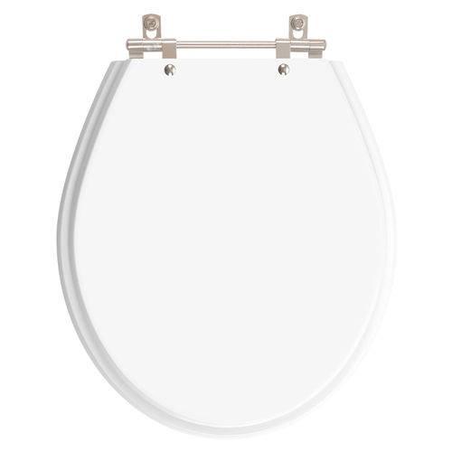 Assento Sanitário Angra Neve (Branco) para Louça Ideal Standard