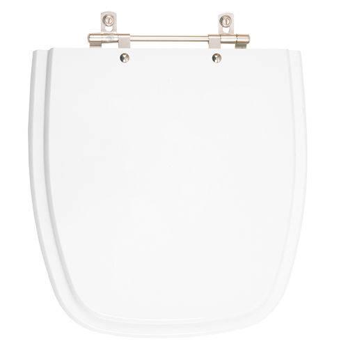 Assento Sanitário Poliéster Fit Branco para Vaso Celite