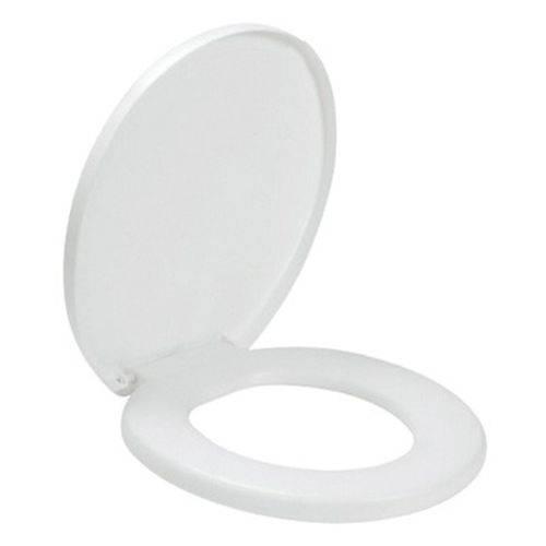 Assento Sanitário Branco Almofadado Amanco