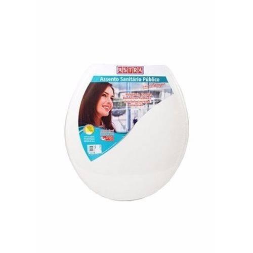 Assento Sanitário Confort Astra Branco Pp