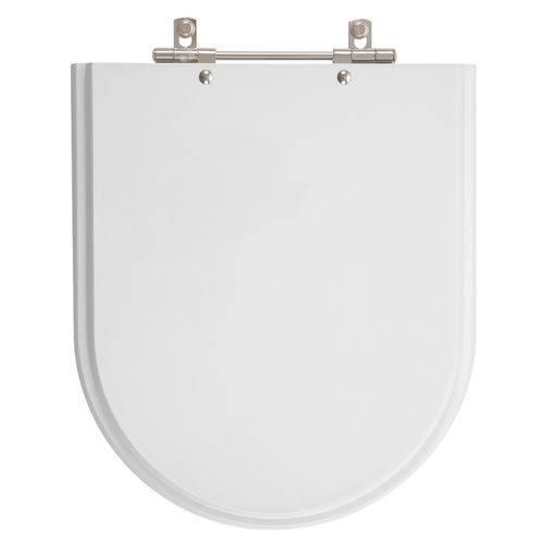 Assento Sanitário Oxford Branco Gelo para Louça Deca