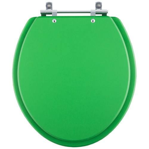 Assento Sanitário para Modelo Convencional Oval Cor Verde Vivo