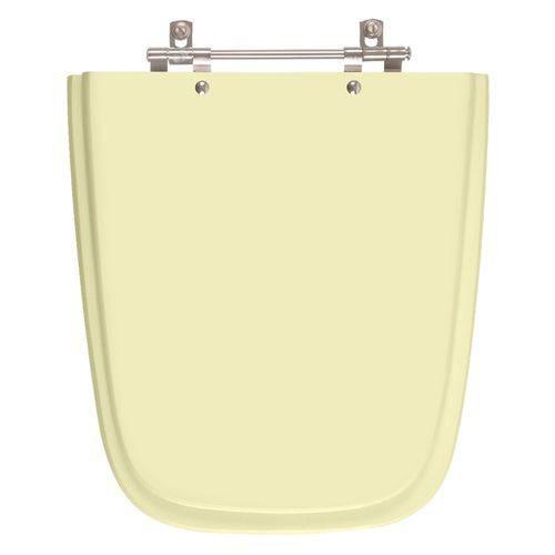 Assento Sanitario Poliester Aero Bege Claro para Vaso Ideal Standard