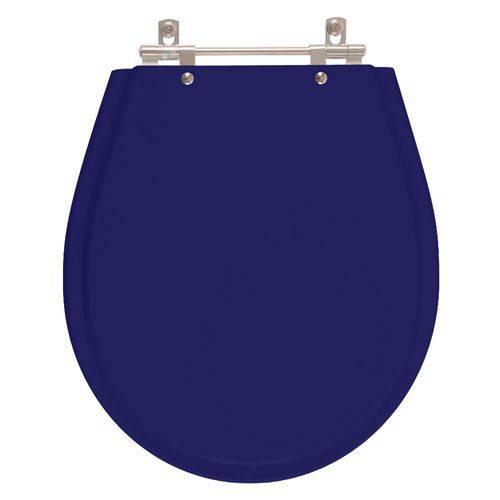 Assento Sanitário Poliéster Avalon Azul Cobalto para Louça Ideal Standard