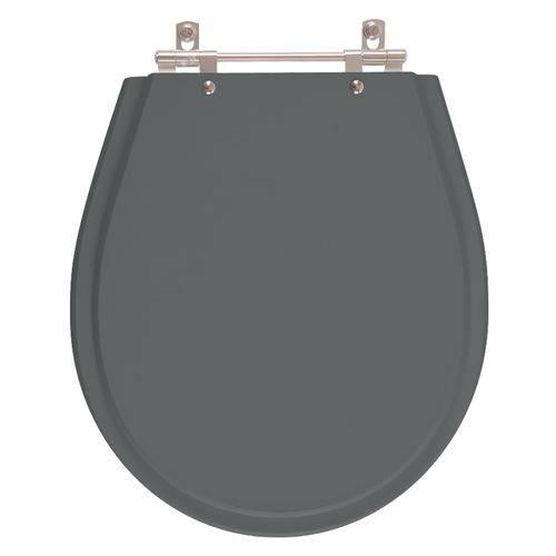 Assento Sanitário Poliéster Avalon Cinza Quartzo para Louça Ideal Standard