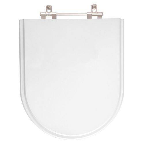 Assento Sanitário Carrara Branco Gelo para Louça Deca