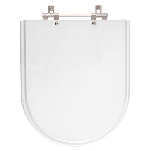 Assento Sanitário Silent Branco para Louça Hervy