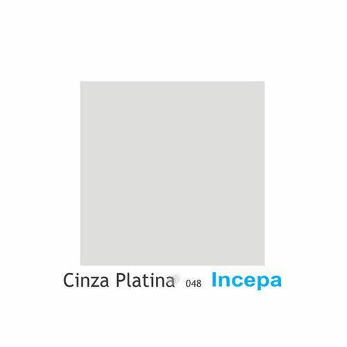 Assento Sanitário Poliéster com Amortecedor Studio Cinza Platina para Vaso Incepa