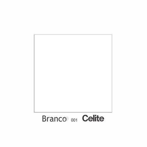 Assento Sanitário Poliéster com Amortecedor Stylus Branco para Vaso Celite