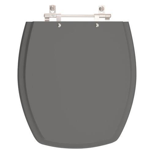 Assento Sanitário Thema Ambar (Cinza Escuro) para Louça Incepa Laufen