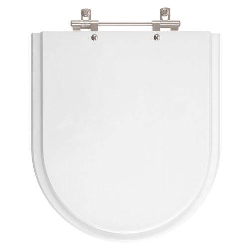Tampa de Vaso Smart Branco para Bacia Celite