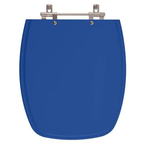 Assento Sanitário Stylus Azul Mineral para Louça Celite