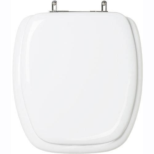 Assento Sanitário (tampa de Vaso) Almofadado Aspen Branco para Bacia Deca