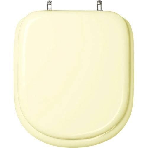Assento Sanitário (tampa de Vaso) Almofadado Flox Marfim para Bacia Fiori