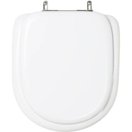 Assento Sanitário (tampa de Vaso) Almofadado Nexo Branco para Bacia Roca