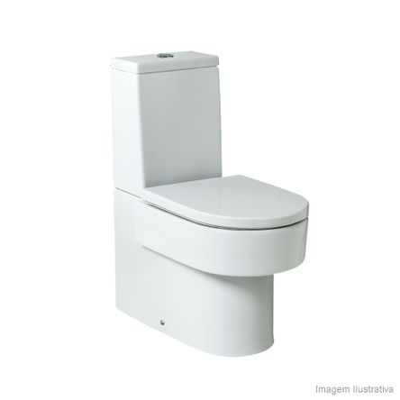 Assento Sanitário Termofixo Amortecido Happening Branco Roca