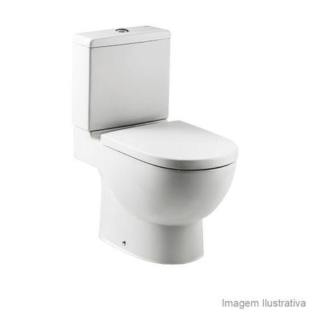 Assento Sanitário Termofixo Amortecido Meridian-N Branco Roca