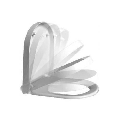 Assento Sanitário Termofixo Slow Close Easy Clean Vogue Plus Branco