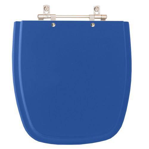 Assento Sanitário Versato Azul Mineral para Louça Celite