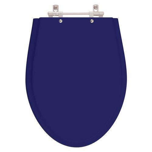 Assento Sanitário Victoria Azul Cobalto para Louça Ideal Standard
