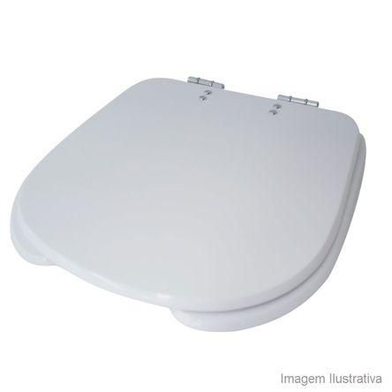 Assento Sanitário Vogue Plus Conforto Branco Tondo