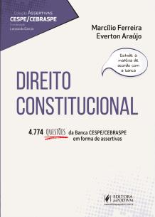Assertivas CESPE - Direito Constitucional (2019)