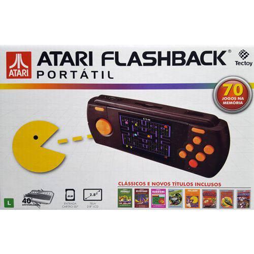 Atari Flashback® Portátil com 70 Jogos na Memória