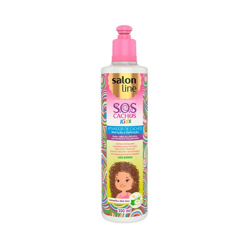 Ativador de Cachos Salon Line SOS Kids 300ml