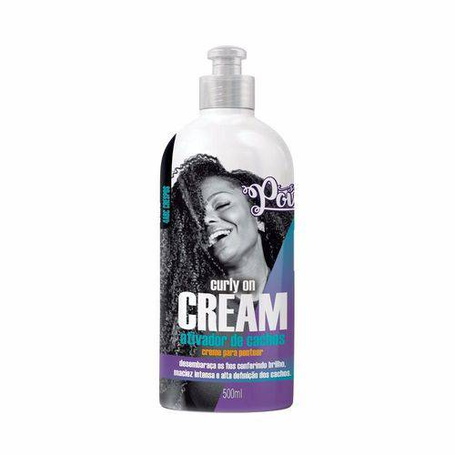 Ativador de Cachos Soul Power Curly On Cream 500ml