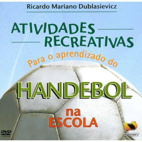 Atividades Recreativas para o Aprendizado do Handebol na Escola (livro Virtual)