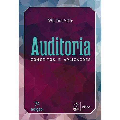 Auditoria - Conceitos e Aplicações - 7ª Edição (2018)