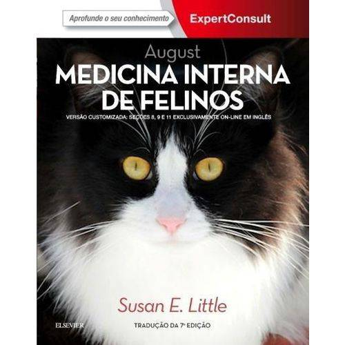 August Medicina Interna de Felinos - 7ª Ed. 2017