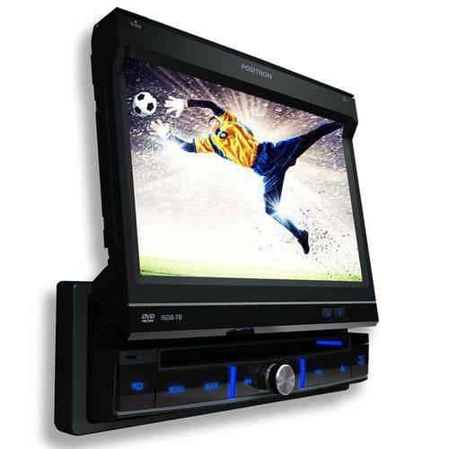 "Auto Rádio Positron DVD Player Sp-6700DTV 7"" Retrátil/ USB/ MP3/ Tv Digital"